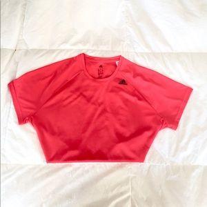Adidas Hot Pink Athletics T-Shirt